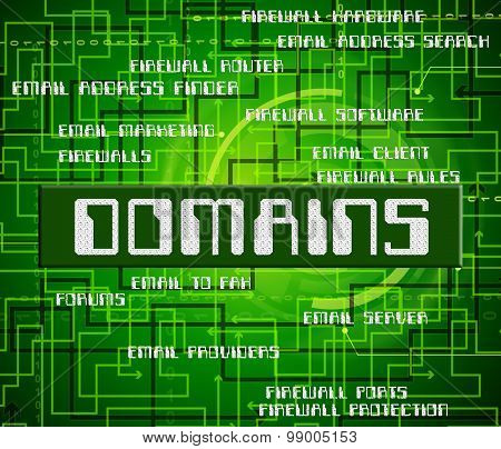 Domains Word Indicates Dominion Zone And Text