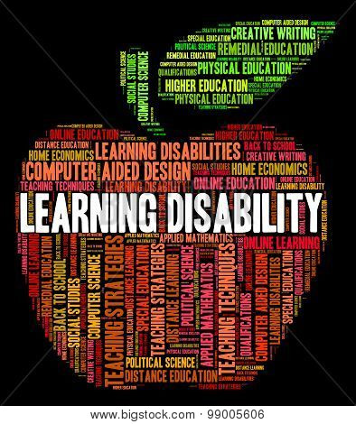 Learning Disability Words Indicates Special Education And Gifted