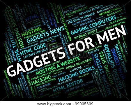Gadgets For Men Shows Mod Con And Things