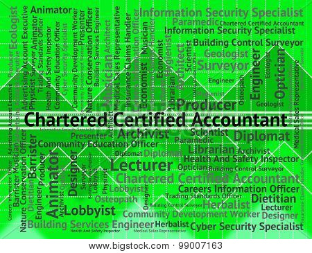 Chartered Certified Accountant Means Balancing The Books And Accountants