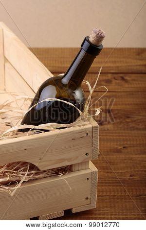 Wine Bottle In Box