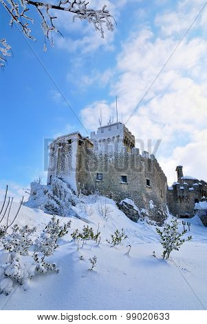 Impenetrable Castle In The Snow