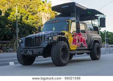 Red Bull Truck Music Station