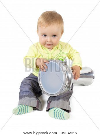 Baby Percussionist