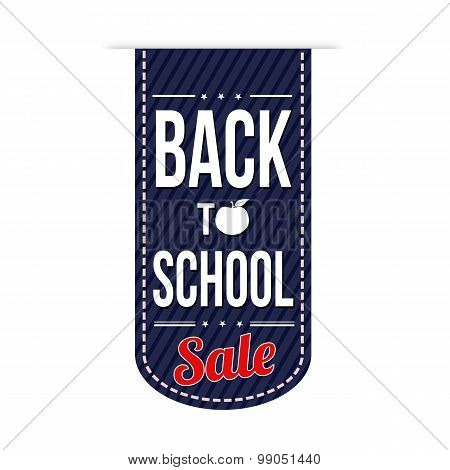 Back To School Sale Banner Design
