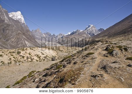 Route to Everest Base Camp