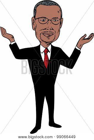 Ben Carson 2016 Republican Candidate Cartoon