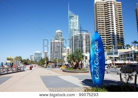 Commonwealth Games countdown clock, Gold Coast