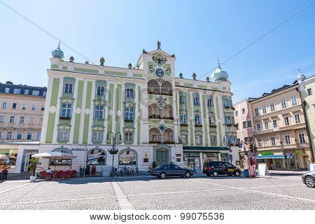 Townhall In Gmunden