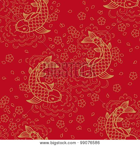 Chinese vector seamless pattern