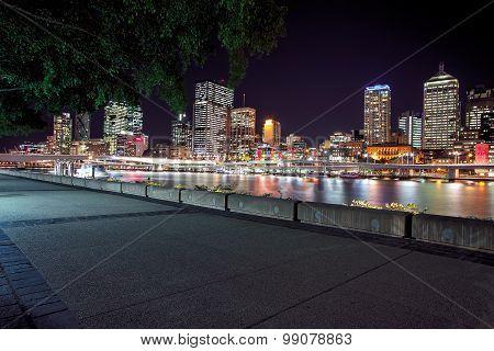 View of Brisbane City from Southbank Parklands, Brisbane