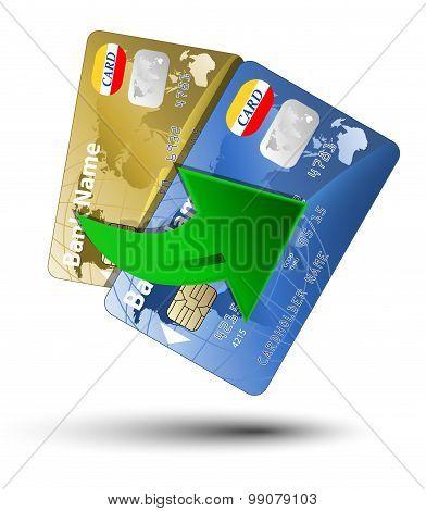 Money Transfer Between Plastic Cards