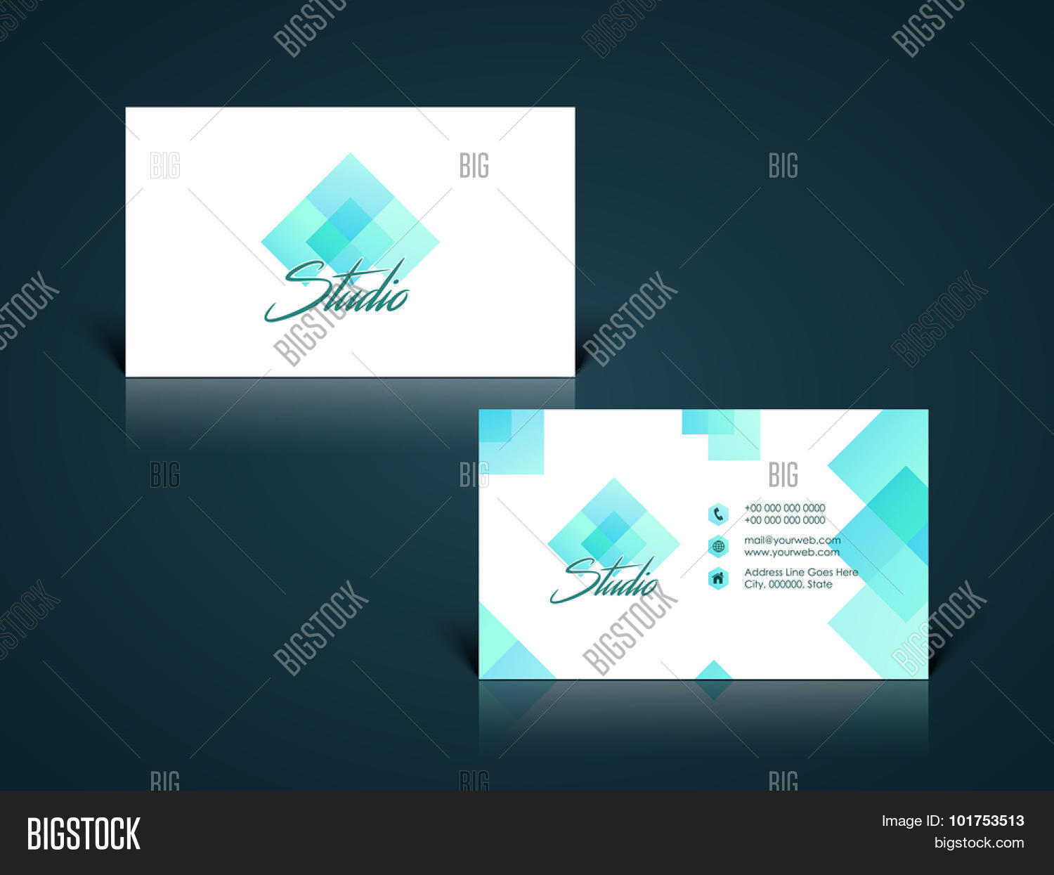 Creative Abstract Design Decorated Vector & Photo | Bigstock