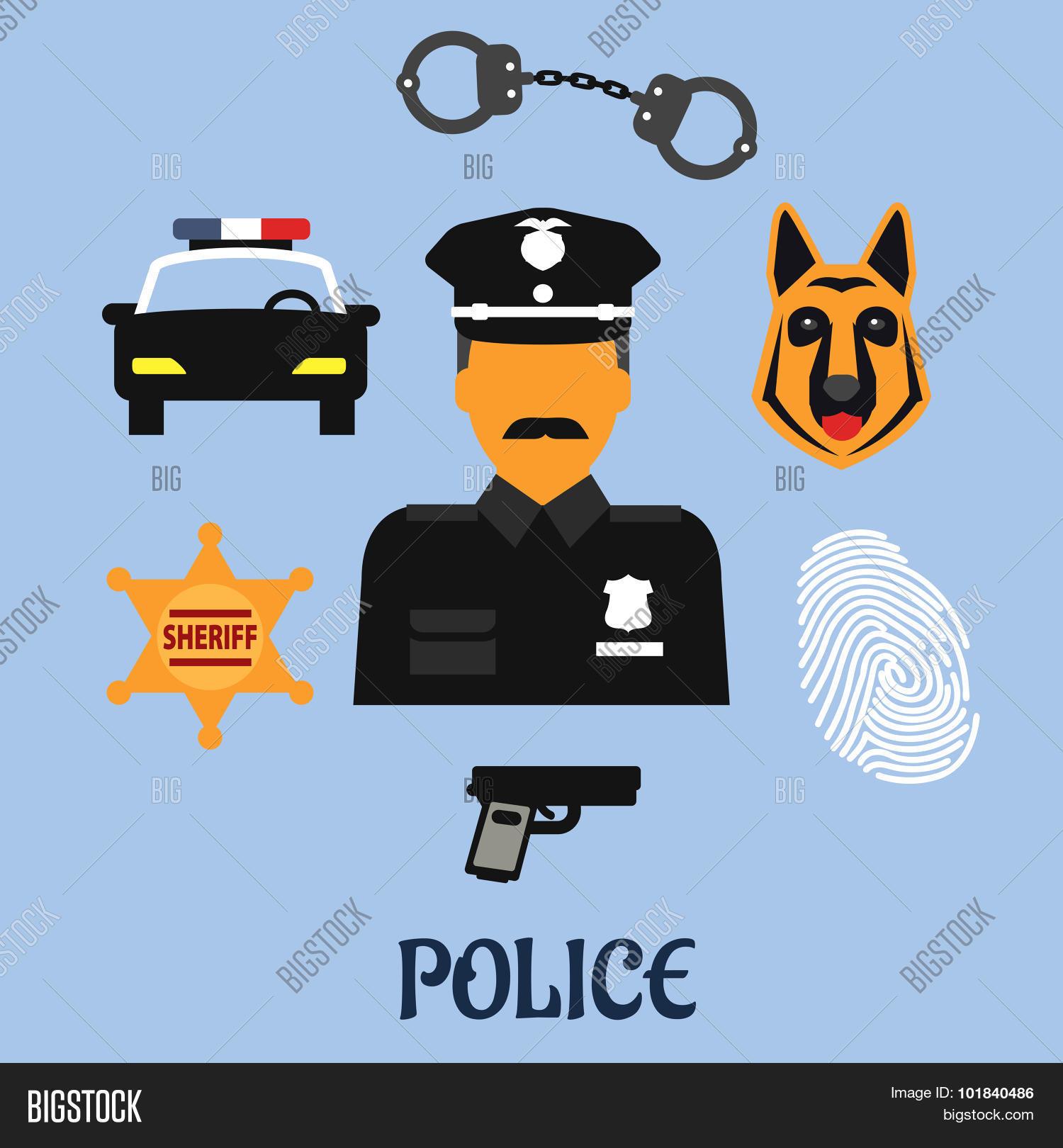 Police Profession Vector Photo Free Trial Bigstock