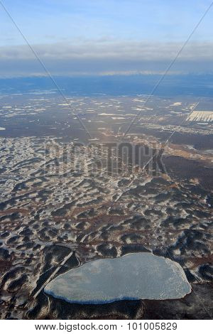 Flying From Fairbanks To Anchorage, Shooting In Airplane