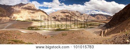 View From Zanskar Valley - Zangla Village - Ladakh