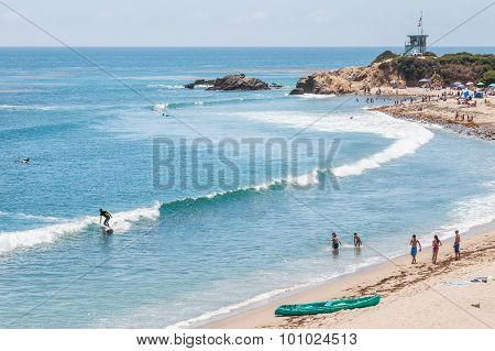 California Beach Scene