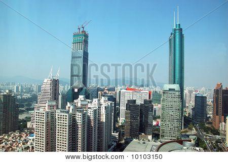 Shenzhen Cityscape, China