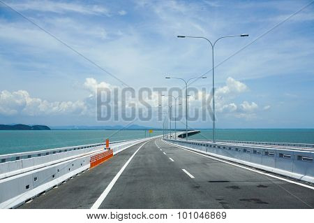 View Of Penang Bridge, Malaysia