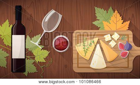 Wine Tasting With Food
