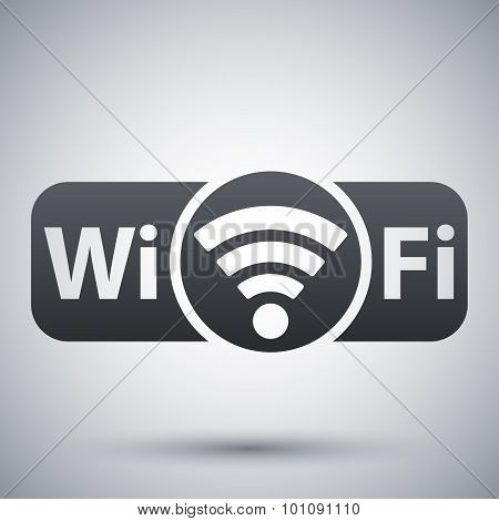 Vector Not Genuine Wi-fi Icon