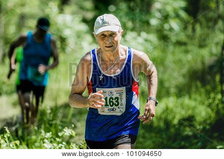 old man run