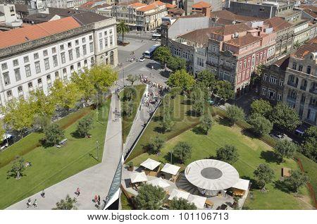 Lisbon Plaza In Porto