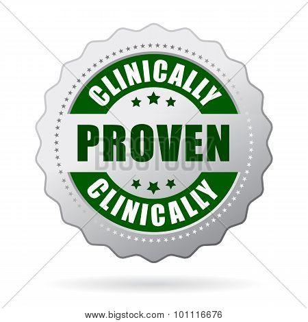 Clinically proven icon