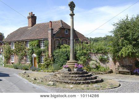 War Memorial At Shere. Surrey. UK