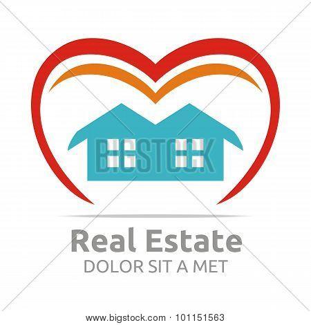 Logo Building Vector Real Estate Design