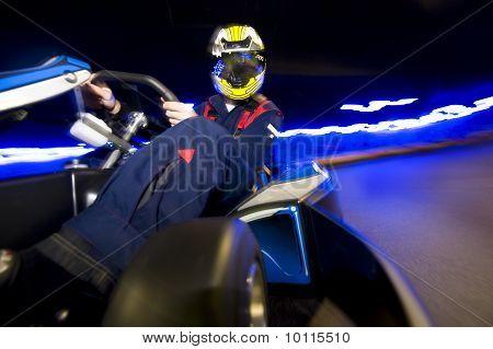 Go-cart Racing Driver