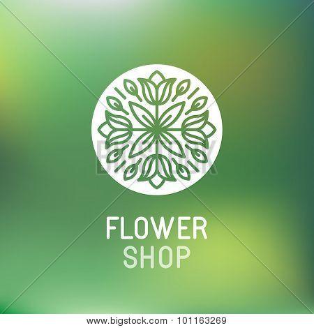 Florist Emblem