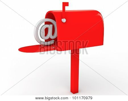 3d email post box