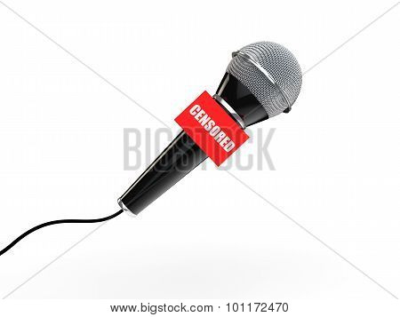 3d microphone censored concept