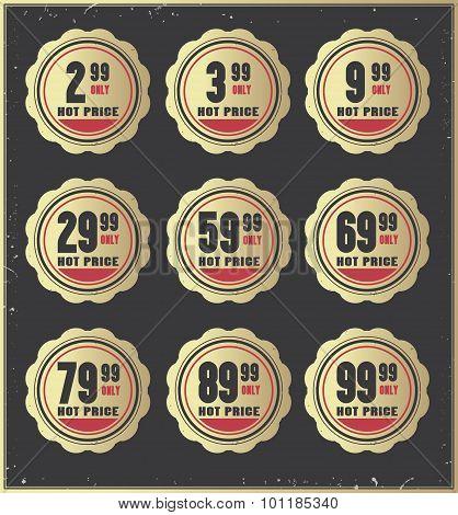 Price  badges