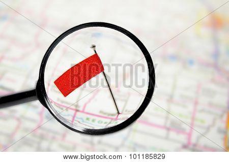 Locator Flag