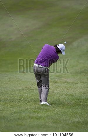 WENTWORTH, ENGLAND. 23 MAY 2009.Rory Mcilroy playing in the 3rd round of the European Tour BMW PGA Championship.