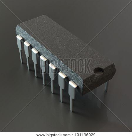 DIP chip package