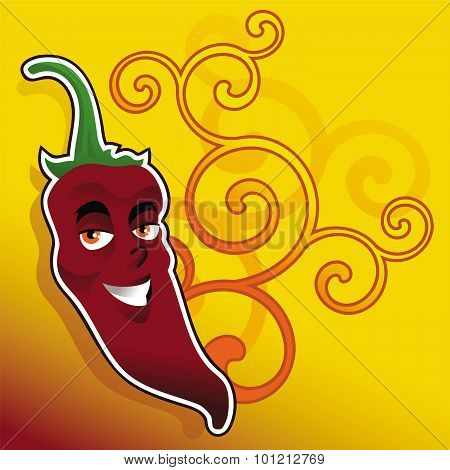 chili pepper background