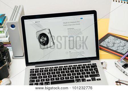 Apple Computers New WatchOS 2