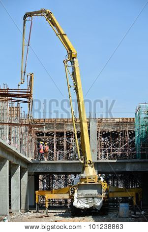 Elephant Crane or Concrete Pump Crane