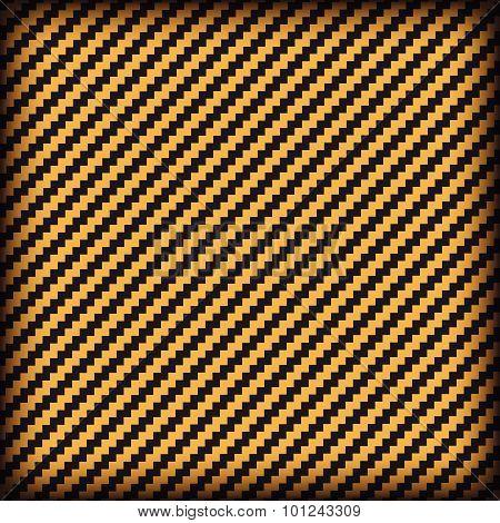 Kevlar Black And Orange Background Vector