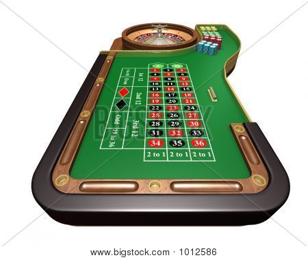 Roulette Table (Player View)
