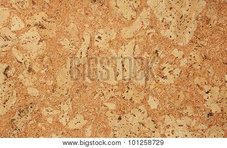 Cork texture. Cork background. Clo se up poster