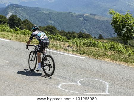 The Cyclist Mark Cavendish - Tour De France 2015