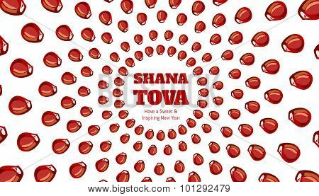 SHANA TOVA - Greeting card
