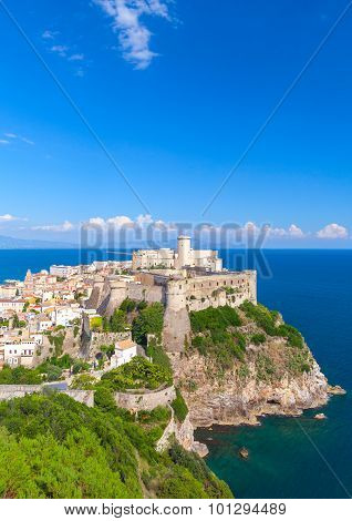 Ancient Castle In Old Town Of Gaeta