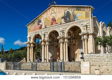 Church of All Nations, Church or Basilica of the Agony, Jerusalem, Israel