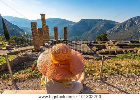 Delphi Temple of Apollo