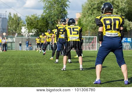 Raiders Team. Nizhny Novgorod City. Russia